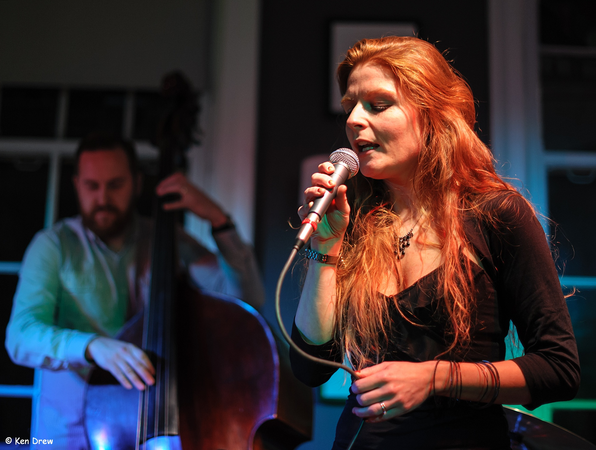 Zoë Gilby sings Monk - Pannonica gig - Splinter at the Bridge 9 Nov 2014 _cKen Drew
